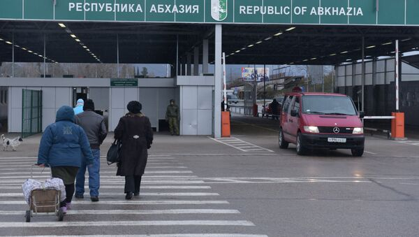 Абхазо-российская граница. - Sputnik Абхазия