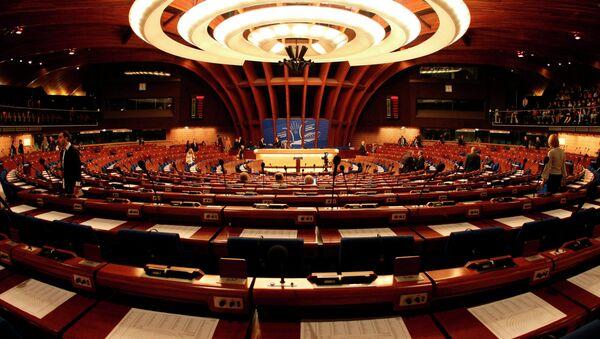 Зал парламентской ассамблеи Совета Европы. Архивное фото. - Sputnik Абхазия