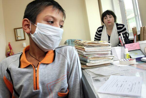 Лечение гриппа и ОРВИ у детей. Архивное фото. - Sputnik Абхазия