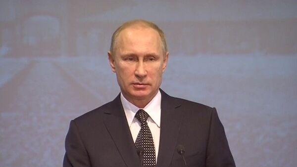 Малодушие, лицемерие и предательство – Путин об искажении истории Холокоста - Sputnik Абхазия