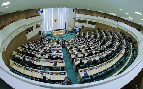 Заседание Совета Федерации РФ. Архивное фото. - Sputnik Абхазия