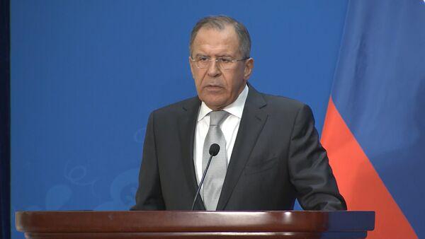 Лавров прокомментировал заявление Обамы о смене власти на Украине - Sputnik Абхазия