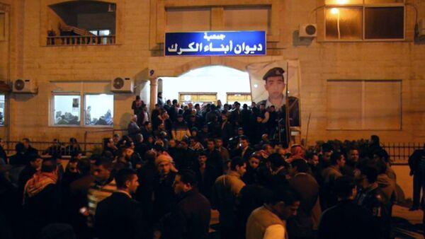Жители Аммана вышли на улицы из-за казни иорданского пилота боевиками ИГ - Sputnik Абхазия