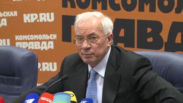 Экс-премьер Украины Азаров о Майдане, госперевороте и Януковиче - Sputnik Абхазия