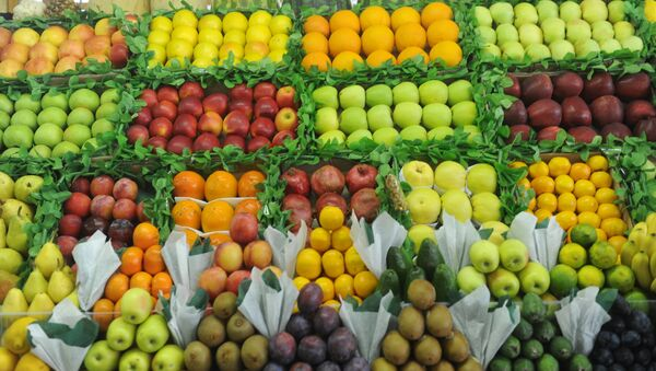 Прилавок с фруктами - Sputnik Абхазия
