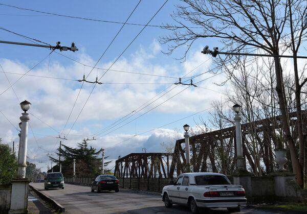Камеры видеонаблюдения на трассах Сухума. - Sputnik Абхазия