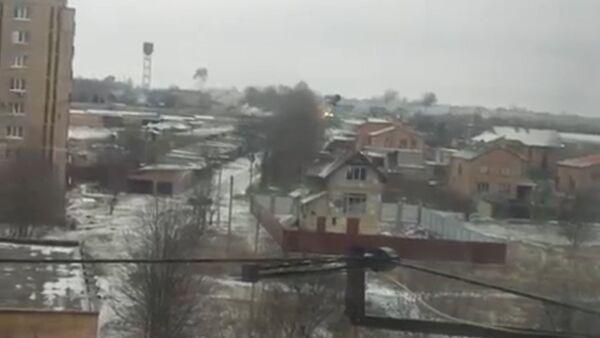 Ракетный обстрел Краматорска и его последствия. Съемки очевидцев - Sputnik Абхазия