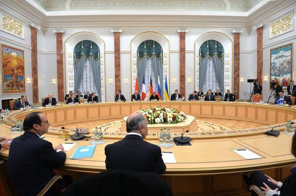 Переговоры в Минске. Архивное фото. - Sputnik Абхазия