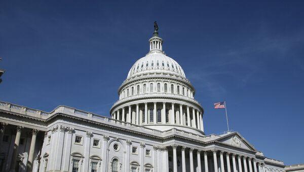 Капитолий (United States Capitol) на Капитолийском холме в Вашингтоне. Архивное фото. - Sputnik Абхазия