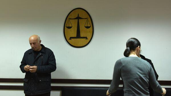 Суд по делу Зантария и Сысак. Архивное фото. - Sputnik Абхазия