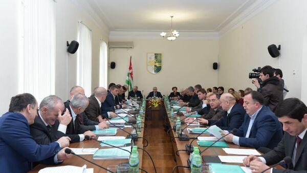 Сессия парламента - Sputnik Абхазия