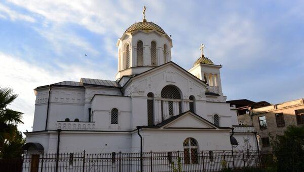 Церковь. Архивное фото. - Sputnik Абхазия