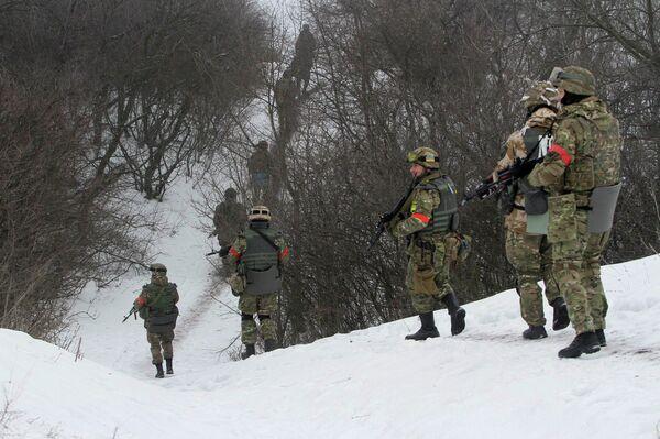 Ополченцы самопровозглашенной Донецкой народной республики завершили зачистку Дебальцево - Sputnik Абхазия