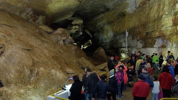 Новоафонская пещера - Sputnik Аҧсны