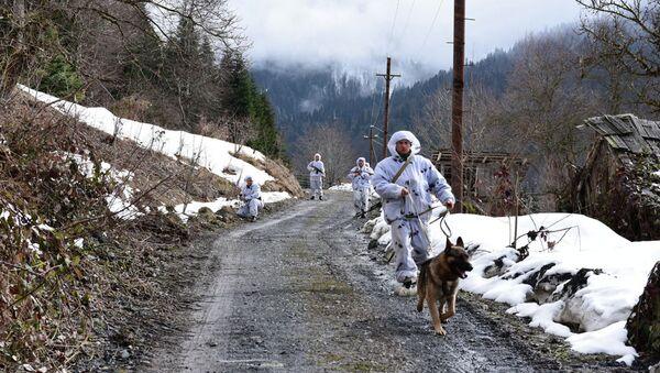 Пограничники России и Абхазии на страже рубежей республики - Sputnik Абхазия