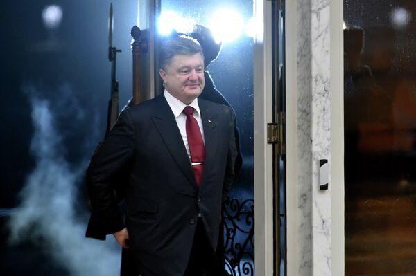 Презедент Украины Петр Порошенко. Архивное фото. - Sputnik Абхазия