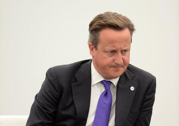 Премьер-министр Великобритании Дэвид Кэмерон. Архивное фото. - Sputnik Абхазия