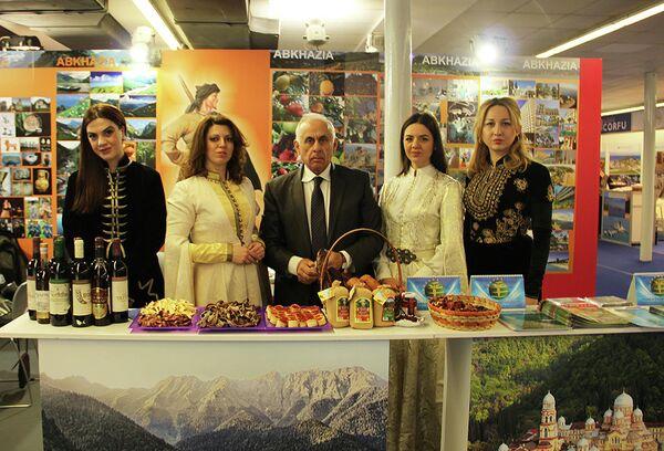 Республика Абхазия приняла участие в-ой международной туристической выставке Sajam Fair - Sputnik Абхазия