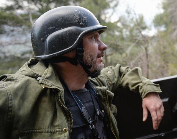 фотокорреспондент МИА Россия сегодня Андрей Стенин - Sputnik Абхазия