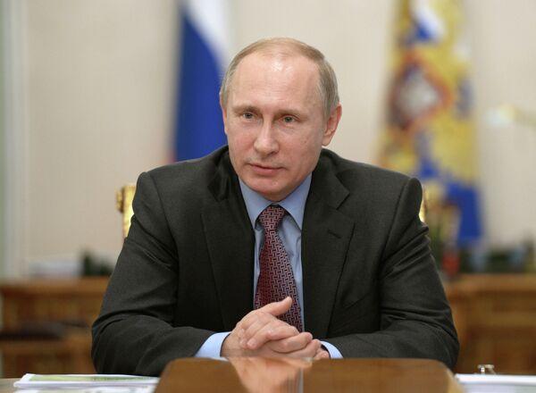 Президент РФ В.Путин провел встречу с экспертами в области экономики - Sputnik Абхазия