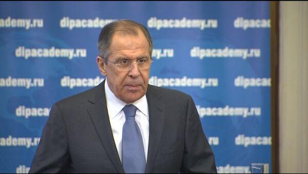 Лавров обвинил США в пренебрежении главными нормами международного права - Sputnik Абхазия