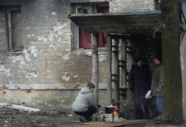 Кәыҵниа: Донецк иаабаз ажәала аиҭаҳәара уадаҩуп - Sputnik Аҧсны