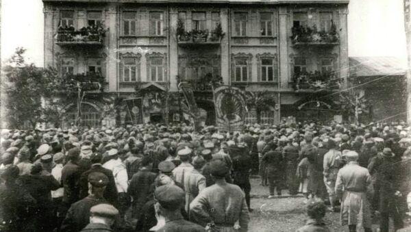 Митинг в Сухуме. Март 1921 г. - Sputnik Абхазия