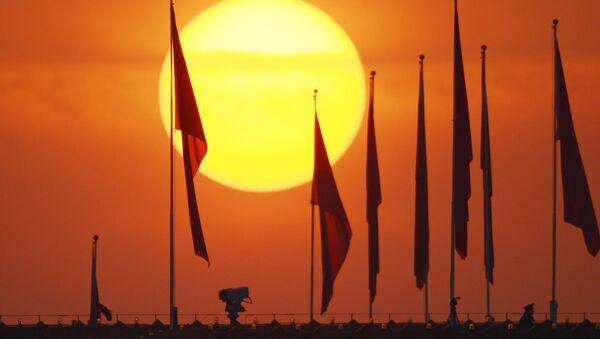 Флаг Китая. Архивное фото. - Sputnik Абхазия