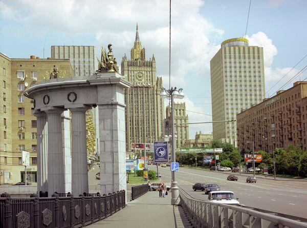 Здание МИДа. Архивное фото. - Sputnik Абхазия