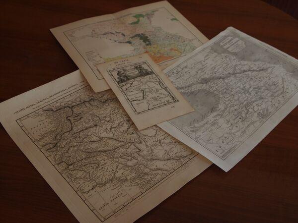 Оригиналы карт Кавказа - Sputnik Абхазия