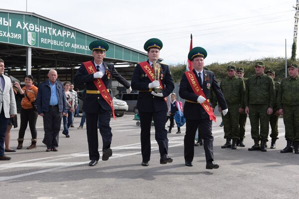 Эстафета Победы стартовала в Абхазии - Sputnik Абхазия