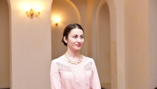 Пресс-секретарь администрации президента Хибла Возба - Sputnik Абхазия