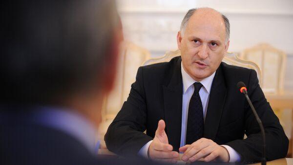 Министр иностранных дел В.А. Чирикба. Архивное фото. - Sputnik Абхазия