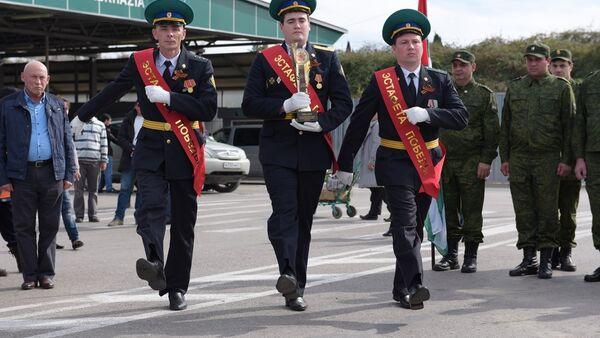 Эстафета Победы прибыла в Абхазию. - Sputnik Абхазия
