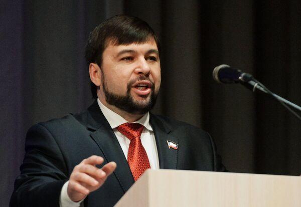 Денис Пушилин. Архивное фото - Sputnik Абхазия