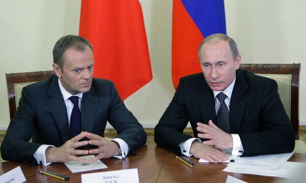 Владимир Путин и Дональд Туск встретились с сопредседателями Группы по сложным вопросам - Sputnik Абхазия