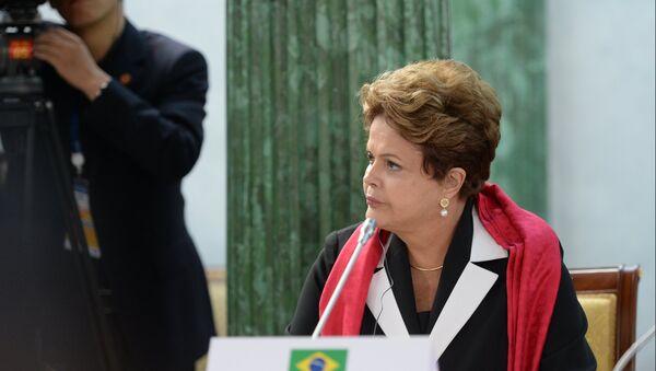 Президент Бразилии Дилма Роуссефф. Архивное фото. - Sputnik Абхазия