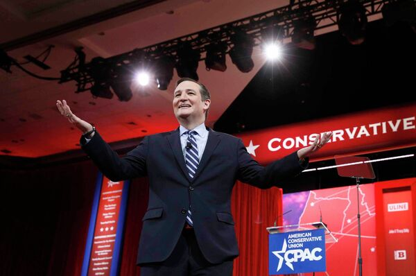 Сенатор от штата Техас Тед Крус выступает на Политической конференции Консервативной действий (CPAC). Архивное фото - Sputnik Абхазия