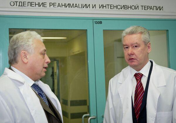 С.Собянин и Л. Печатников. Архивное фото - Sputnik Абхазия