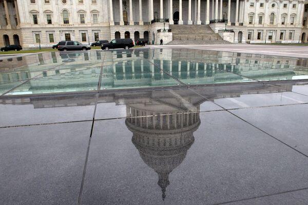 Здание Конгресса США в Вашингтоне. Архивное фото. - Sputnik Абхазия