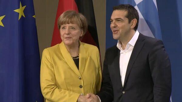Меркель и Ципрас прокомментировали позиции своих стран по вопросу репараций - Sputnik Абхазия