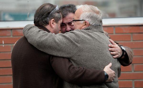 Родственники и друзья погибших в авиакатастрофе airbus А320. - Sputnik Абхазия