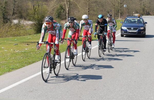 Сборная Белорусии на велогонкам. Фото с места события. - Sputnik Абхазия
