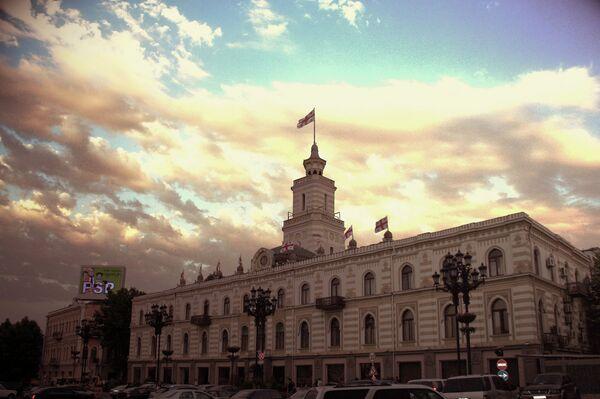 Здание Мэрии в Тбилиси. Архивное фото. - Sputnik Абхазия