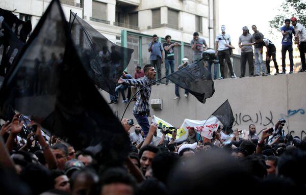 Сторонники ИГ во время акции протеста в Египте. Архивное фото. - Sputnik Абхазия