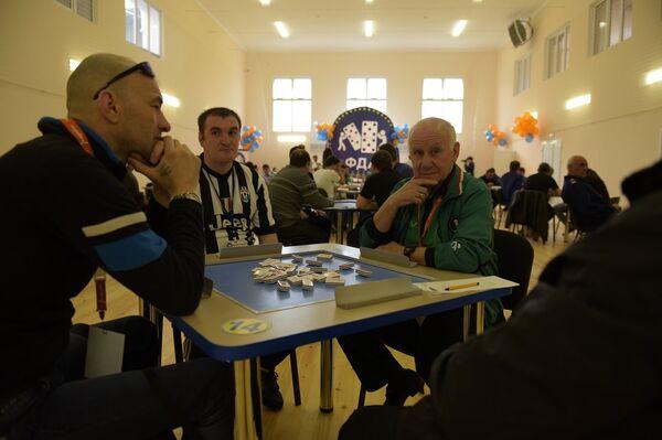 Международный турнир по домино посвященный памяти Первого президент Абхазии. - Sputnik Абхазия