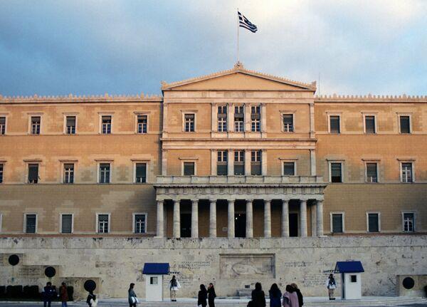 Здание греческого парламента - Sputnik Абхазия