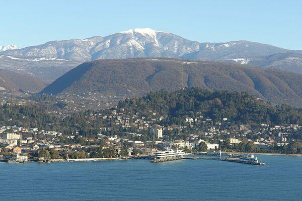 Вид на Сухум. Архивное фото. - Sputnik Абхазия