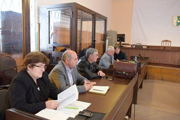 Заседание суда. Фото с места события. - Sputnik Абхазия