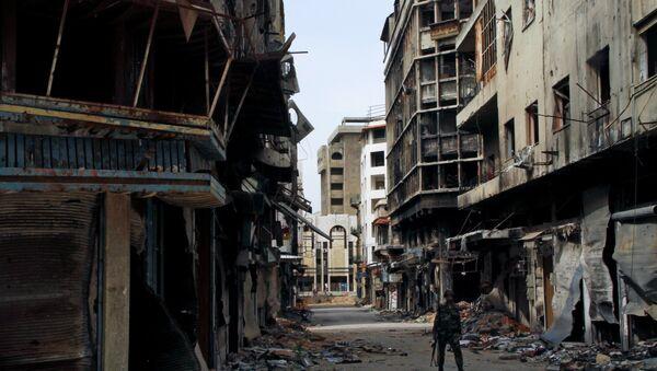 Архивное фото города Дамаск после атаки террористов - Sputnik Абхазия